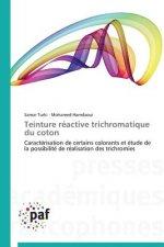 Teinture Reactive Trichromatique Du Coton