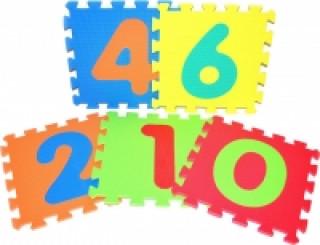 Pěnové puzzle - Čísla