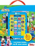 Mickey Mouse Clubhouse Electronic Reader and 8-Book Library