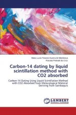 Carbon-14 dating by liquid scintillation method with CO2 absorbed