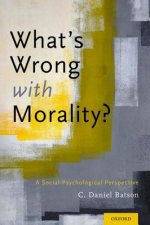 What's Wrong with Morality?