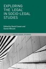 Exploring the 'Legal' in Socio-Legal Studies