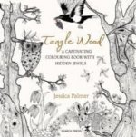 TANGLE WOOD COLOURING BOOK SIGNED ED