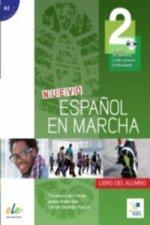 Nuevo Espanol en Marcha 2 : Student Book + CD