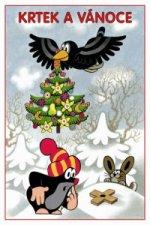 Krtek a Vánoce - omalovánka