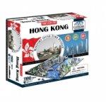 Puzzle 4D - Hong Kong 51x40 cm