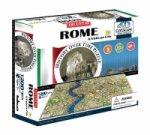 Puzzle 4D - Řím 61x40 cm