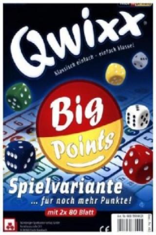 Qwixx Big Points Blöcke 2 x 80 Blatt (Spiel-Zubehör)
