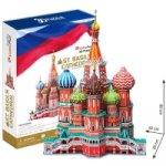 Puzzle 3D Katedrála sv.Basileje - 214 dílků