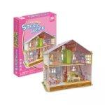 """Puzzle 3D Dům pro panenky """"Sara´s Home"""""""