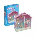 """Puzzle 3D Dům pro panenky """"Carrie´s Home"""""""