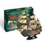Puzzle 3D Plachetnice San Felipe 248 dílků