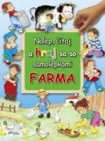 Nalep, čítaj a hraj sa so samolepkami Farma