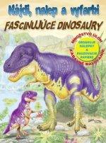 Nájdi, nalep a vyfarbi Fascinujúce dinosaury