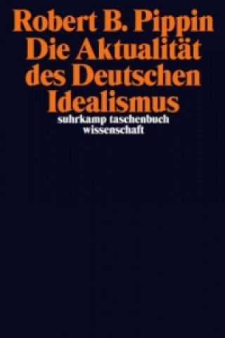 Die Aktualität des Deutschen Idealismus