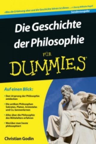 Die Geschichte der Philosophie fur Dummies