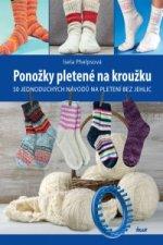 Ponožky pletené na kroužku - 50 jednoduchých návodů na pletení bez jehlic