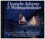 Deutsche Advents- und Weihnachtslieder, 1 Audio-CD