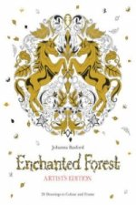 Enchanted Forest Artist's Edition: A Pull-Out and Frame Colo