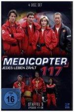 Medicopter 117 - Jedes Leben zählt. Staffel.5, 4 DVDs