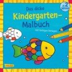 Das dicke Kindergarten-Malbuch. Bd.2