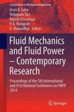Fluid Mechanics and Fluid Power - Contemporary Research