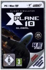 Flight Simulator X-Plane 10 - Global, CD-ROM + 2 AddOns