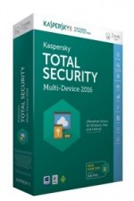 Kaspersky Total Security Multi-Device 2016, 1 DVD-ROM