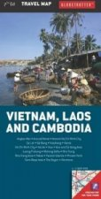 Globetrotter Map Vietman Laos & Cambodia
