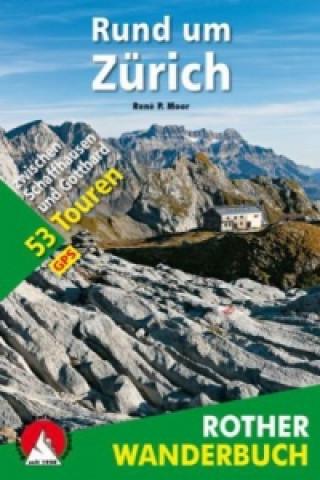 Rother Wanderbuch Rund um Zürich