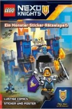 LEGO® Nexo Knights(TM) Ein Monster-Sticker-Rätselspaß, m. Poster