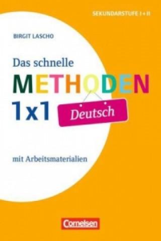 Das schnelle Methoden-1x1 Deutsch