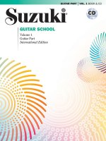 Suzuki Guitar School Guitar Part & CD. Vol.1
