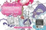 One and Only Elephant Parade Postcard Colouring Book