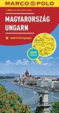 Maďarsko Magyarország Ungarn 1:300 000