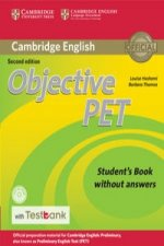 Objective Pet Student's Book Without Answers with CD-ROM wit