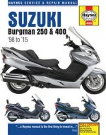 Suzuki Burgman 250 & 400 Service & Repair Manual