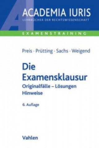 Die Examensklausur