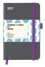 Cool Diary Grey/Stones Turquoise 2017 WEEKLY (16x22)