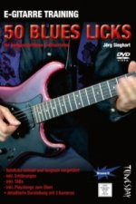 E-Gitarre Training - 50 Blues-Licks, 1 DVD-ROM