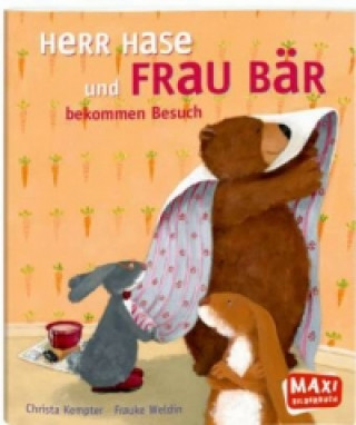 Herr Hase und Frau Bär bekommen Besuch