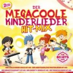 Der megacoole Kinderlieder Hit-Mix - 80 Hits für Kids, 2 Audio-CDs