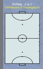 Futsal 2 in 1 Taktikboard und Trainingsbuch