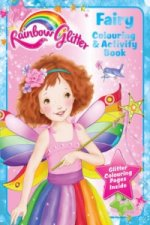Rainbow Glitter Colouring Book - Fairy Floss