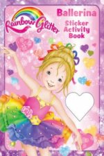 Rainbow Glitter Sticker Book - Tina Ballerina