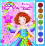 Rainbow Glitter Paint with Glitter - Fairy Floss