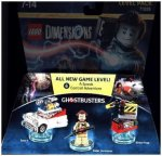 LEGO Dimensions, Level Pack, Ghostbusters, 3 Spielfiguren