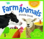 Eva Jigsaw Books Farm Animals