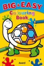 Big and Easy Colouring Book - Tortoise