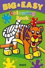Big and Easy Coloring Book - Tiger